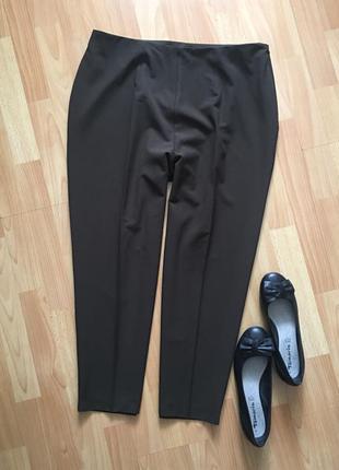 Доступно - укороченные оливковые брюки *berkertex* 20 р.