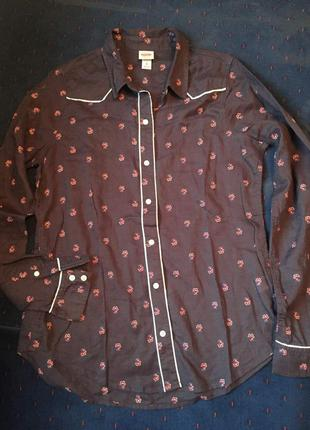 Великолепная рубашка из тончайшего хлопка от американского бренда mossimo