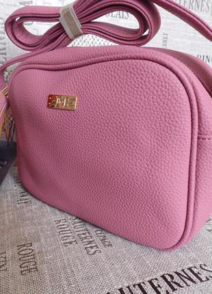 Модная розовая сумочка, отличного качества!