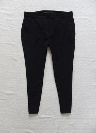 Зауженые черные штаны брюки со стрелками zara, 38 размерa .