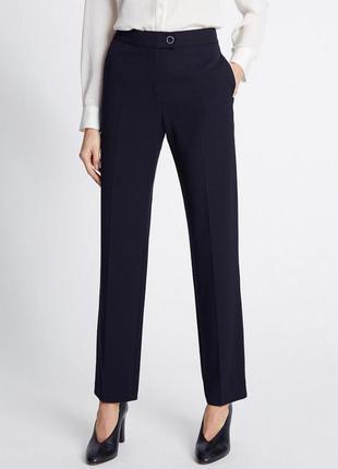 Классические брюки со стрелками, плотная ткань