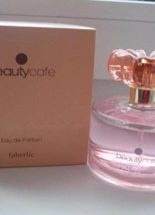 Парфюмерная вода beauty cafe  faberlic