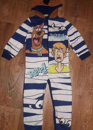 Пижама кигуруми человечек