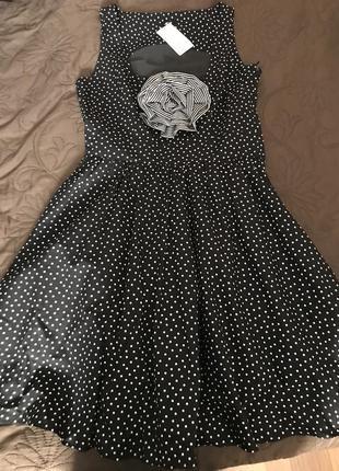 Нове плаття в горошок
