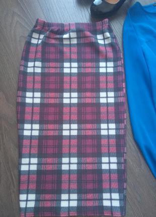 Спідничка-міді (юбка карандаш)