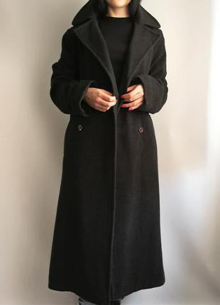 Длинное шерстяное пальто  140739 nuage размер uk10 (s/m)