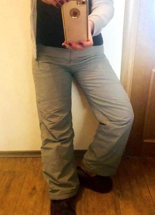 Горно лыжные штаны,  для сноуборда. на фото попа 100 см.