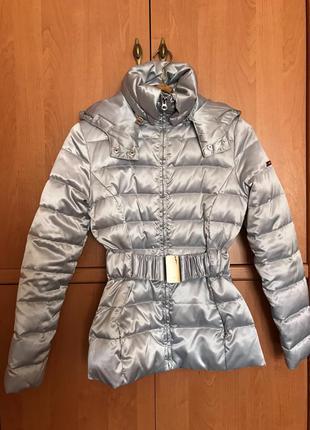 Классная куртка-пуховик oodji