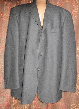 Шеистяной пиджак пог 64см