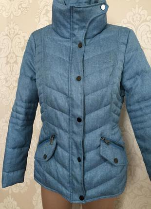 Тёплая куртка, куртка демисезонная, размер m-l
