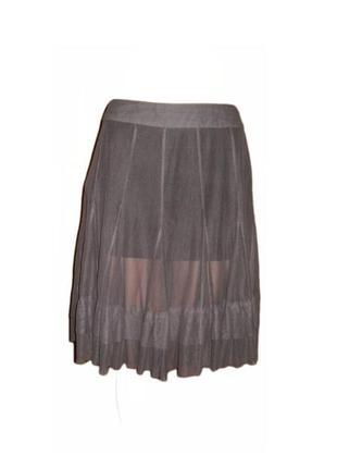 Расклешенная юбка сетка пачка