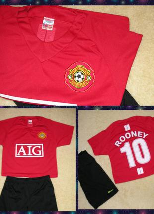 Форма manchester united  aig 10 rooney