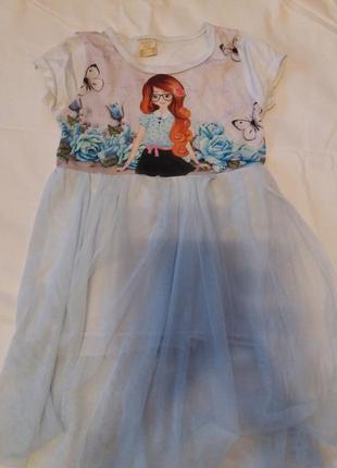 Очаровательное платье для вашей малышки