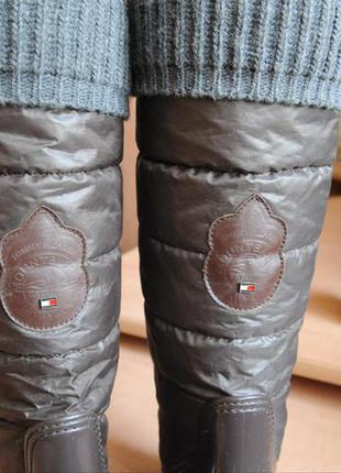 Резиновые сапоги tommy hilfiger , оригинал2 фото
