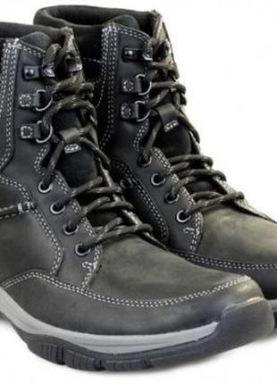 Мужские зимние ботинки clarks