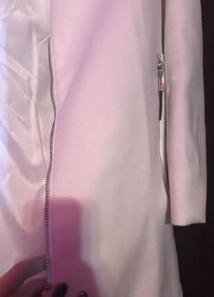 Mango пальто белое