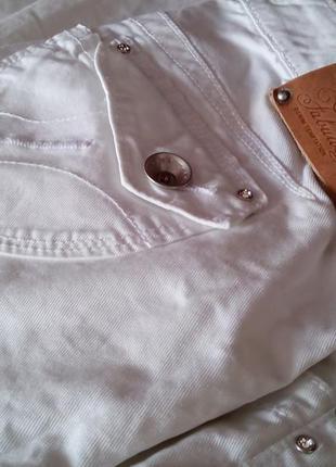 Белые джинсы fornarina.
