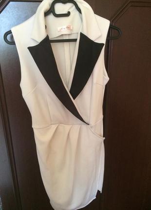 Тренд, платье на запах/платье-жилет