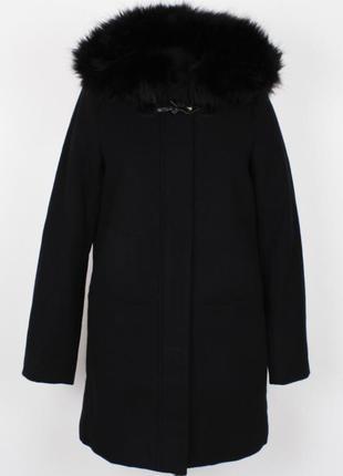 Темносинее пальто tom tailor