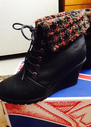 Стильные ботинки , полусапожки , демисезон