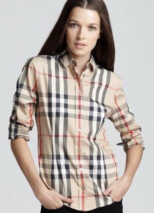 Burberry рубашка (36, s)