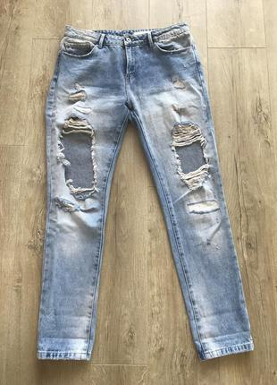 Джинсы, джинсы zara, рваные джинсы