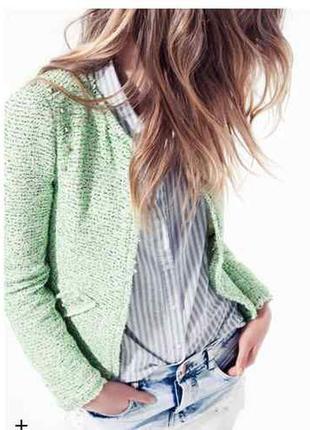 Шикарный весенний пиджак  блейзер от zara