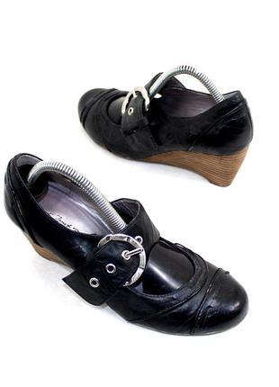 Туфли 36 janet d. германия кожа оригинал
