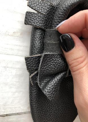 Пинетки кожаные на ножку до 14 см