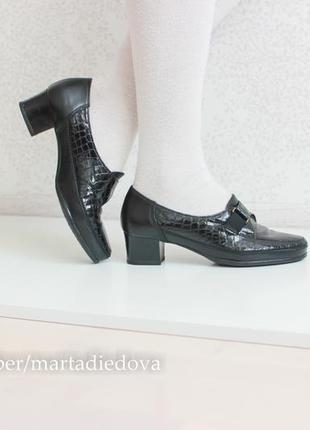 Кожаные ортопедические туфли, натуральная кожа, бренд dorndorf echt mokassin
