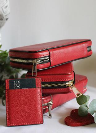Кожанные кошельки портмоне