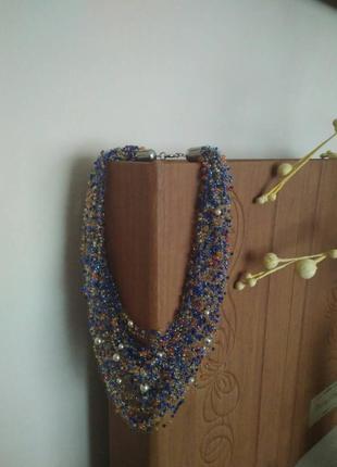 Ожерелье hand made