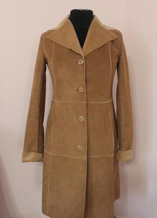 Пальто-дублянка zara