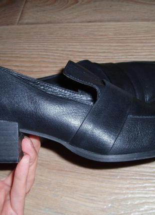 Стильные туфли next (португалия) 38 р. натуральная кожа (24.5 стелька)