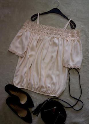 Блузка на плечи размер 8-10 f&f