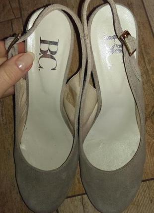 Замшевые туфли best connection