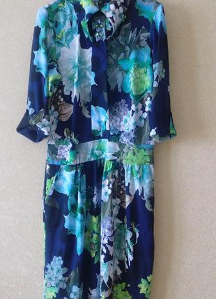 Яркое весеннее платье 46-48 р