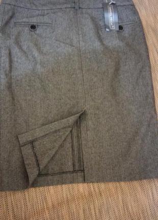 Юбка новая шерсть офис daniel hech на  обьем бедер 90-92 см
