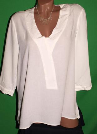 Фирменная блуза (хл замеры) натур. состав, красивая, замечательно смотрится
