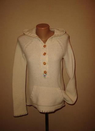 Шерстяной свитер, кофта hollister , р m состав: 80% шерсть ламы +20% нейлон,