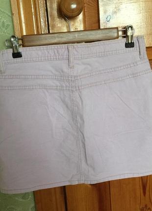 Мини юбка. короткая вельветовая юбка