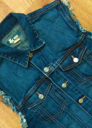 H&m джинсовая жилетка