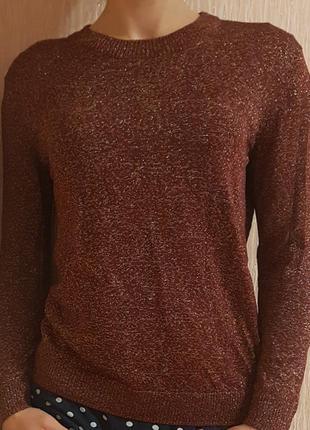 Блестящий свитер от h&m