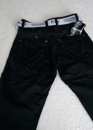 Новые джинсы-брюки .турция