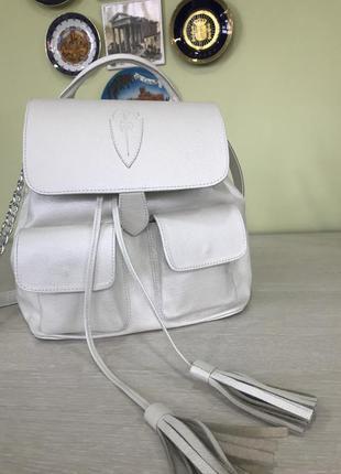 Дизайнерский сумка -рюкзак из итальянской кожи