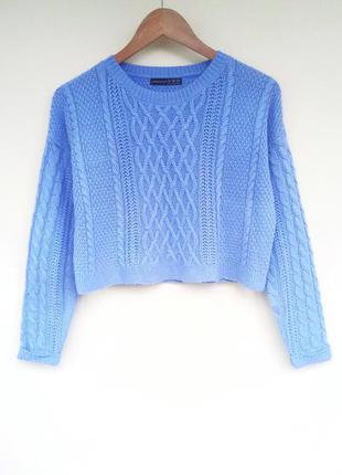 🌿вязаный теплый свитер косичкой / в'язаний теплий светр косичкою!!!
