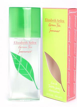 Ориганал. парфюм green tea summer women eau de toilette spray 3.4 oz (100 мл.)