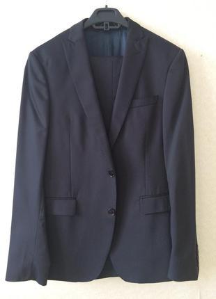 Мужской деловой классический костюм zara