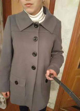 Кашемировое пальто f&f большой размер