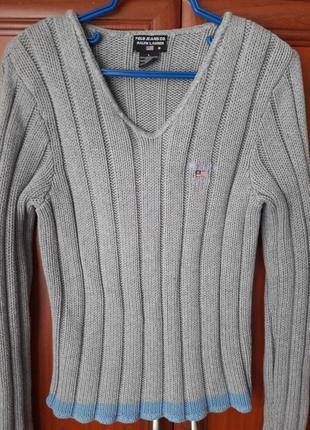 Серенький свитерок джемпер свитшот